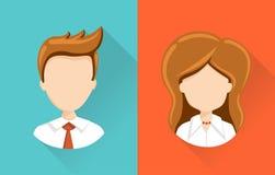 Ilustração de ícones do usuário Imagens de Stock Royalty Free