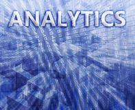 Ilustração de Analytics ilustração stock
