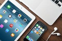 Ilustração de Apple Inc Fotos de Stock