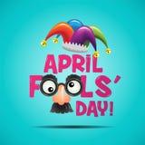 Ilustração de April Fools Day Foto de Stock Royalty Free
