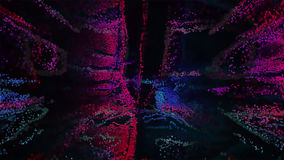 Ilustração de Art Abstract 3D do pixel Imagem de Stock Royalty Free