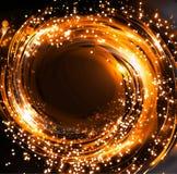 Ilustração de brilho do bokeh Fotografia de Stock Royalty Free