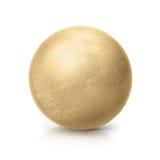 Ilustração de bronze da bola 3D Fotografia de Stock Royalty Free