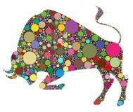 Ilustração de Bull Imagem de Stock