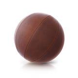 Ilustração de couro da bola 3D Imagens de Stock