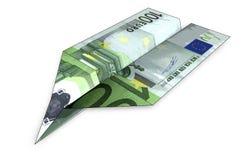 Ilustração de EuroPlane Imagem de Stock