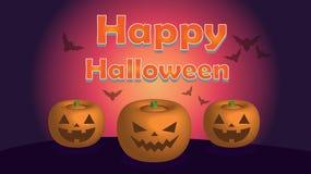 Ilustração de Halloween ilustração stock