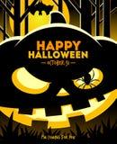 Ilustração de Halloween Imagens de Stock Royalty Free