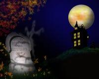 Ilustração de Halloween   Fotografia de Stock