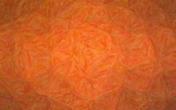 Ilustração de Impasto alaranjado com fundo das variações da cor imagens de stock royalty free