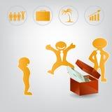 Ilustração de Infographic Imagens de Stock