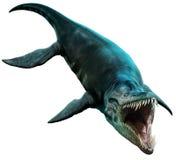 Ilustração de Liopleurodon 3D ilustração stock