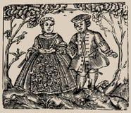 Ilustração de livro velho Fotografia de Stock Royalty Free