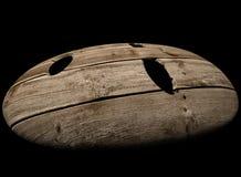 Ilustração de madeira da máscara 3d ilustração do vetor