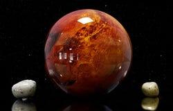 ilustração de Marte das luas e da estrela Elementos deste imag Foto de Stock Royalty Free