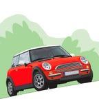 Ilustração de Mini Cooper Fotos de Stock