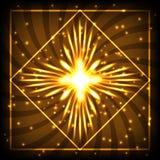 Ilustração de néon Fotografia de Stock Royalty Free