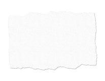 Ilustração de papel rasgada de Texured Fotografia de Stock