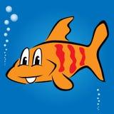 Ilustração de peixes dos desenhos animados Foto de Stock