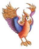 Ilustração de Phoenix Imagem de Stock