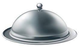 Ilustração de prata da bandeja Imagens de Stock