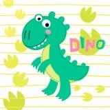 Ilustração de Rex do dinossauro Fotografia de Stock Royalty Free