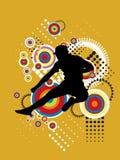 Ilustração de salto do esporte Imagem de Stock Royalty Free