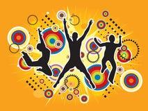 Ilustração de salto do esporte Fotografia de Stock Royalty Free