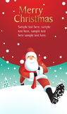 Ilustração de Santa Claus Fotografia de Stock Royalty Free