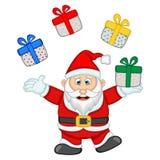 Ilustração de Santa Claus For Your Design Vetora Foto de Stock Royalty Free