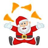 Ilustração de Santa Claus For Your Design Vetora Fotos de Stock Royalty Free