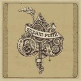 Ilustração de Steampunk ilustração stock