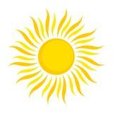 Ilustração de Sun ilustração royalty free