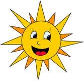 Ilustração de Sun Fotos de Stock