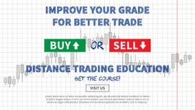 Ilustração de troca do vetor da educação da distância Fotos de Stock