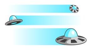 Ilustração de UFOs   ilustração do vetor