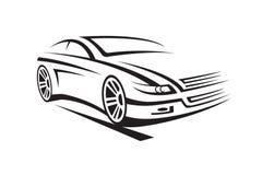 Ilustração de um carro Fotos de Stock Royalty Free