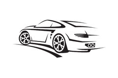 Ilustração de um carro Imagem de Stock