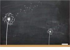 Ilustração de um Clockflower Imagens de Stock Royalty Free