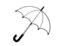 Ilustração de um guarda-chuva ilustração stock