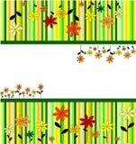 Ilustração de um ornam da flor Imagens de Stock Royalty Free