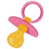 Manequim cor-de-rosa do bebê Fotografia de Stock Royalty Free
