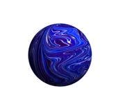 Ilustração de um planeta estrangeiro Fotografia de Stock Royalty Free