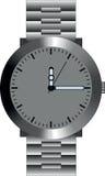 Ilustração de um relógio de pulso Imagens de Stock