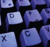 Ilustração de um teclado Imagens de Stock