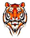 Ilustração de um tigre ilustração stock