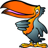 Ilustração de um Toucan Imagens de Stock Royalty Free