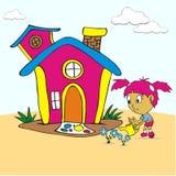 Ilustração de uma atividade das crianças Imagens de Stock Royalty Free