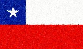 Ilustração de uma bandeira chilena Ilustração do Vetor