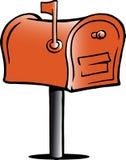 ilustração de uma caixa postal Imagens de Stock Royalty Free
